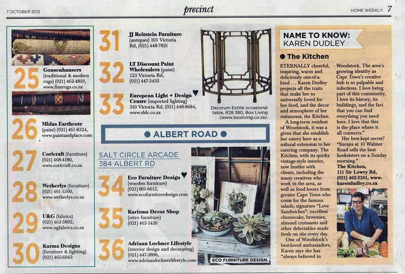 GONSENHAUSERS Sunday Times Home Weekly 7 Oct 2012