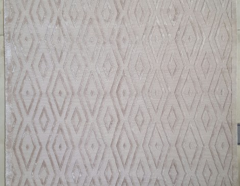 929261 Diamond Geometric Taupe 2.49 x 3.00
