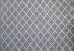 929421 Plush Geometric Graphite and Fog 2.44 x 3.05